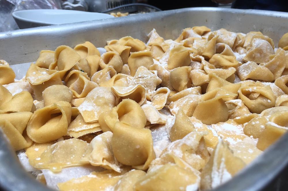 Foodbloggercamp-Session Pasta selber machen, Tortellini