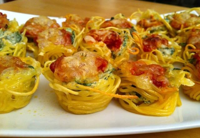 Pastamaniac: Gefüllte Spaghettinester