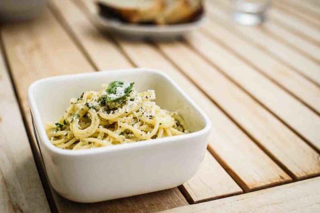 Pastamaniac - Spaghetti mit Artischockenpesto