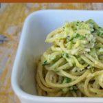 Schnelle Pasta: Nudeln mit Zucchinicreme, vegetarisch