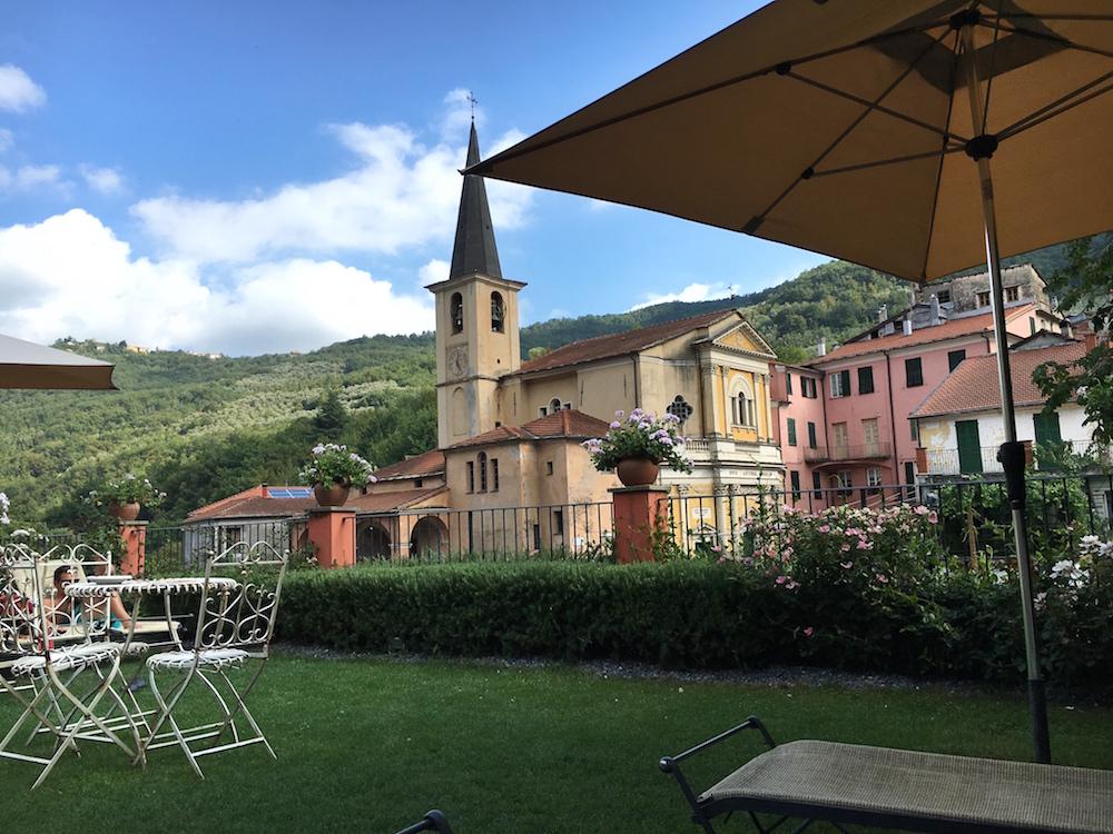 Pastamaniac: Relais del Maro, Ligurien, Italien, Greenpearls, Garten