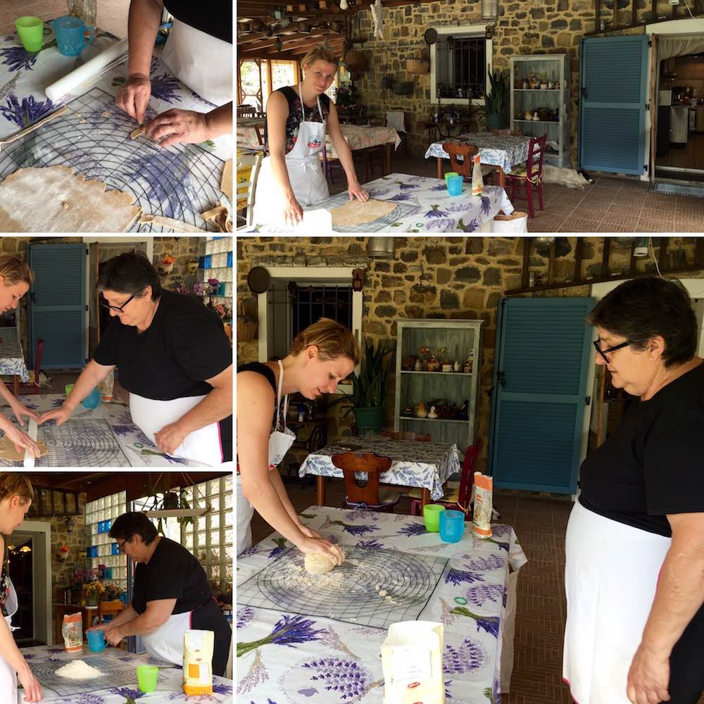Pastamaniac: Relais del Maro, Ligurien, Italien, Greenpearls, Pasta machen
