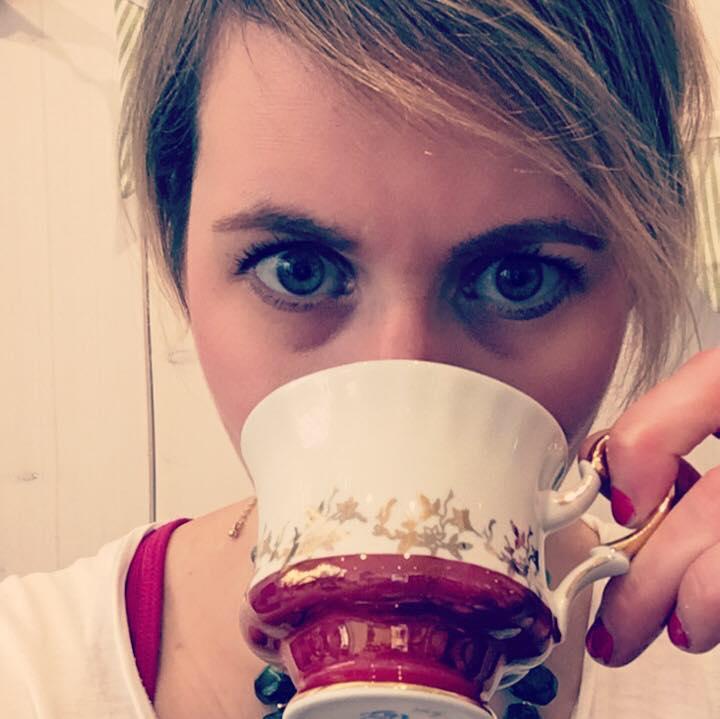 Sabine Sikorski Bloggerin München Podcast Tee-Mosaik