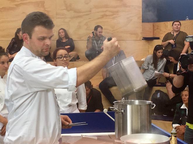 Pasta World Championship 2017: Deutscher Koch Adrian Maximilian Augustin