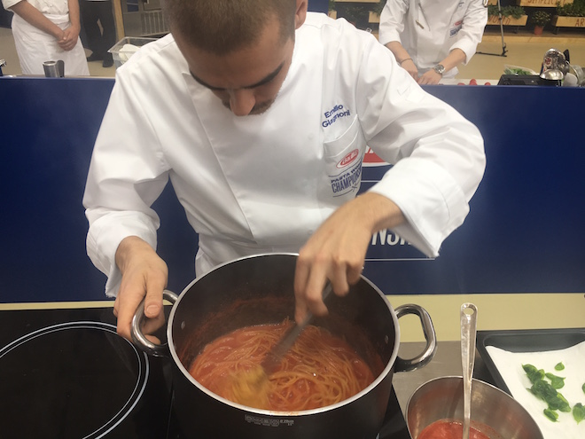 Pasta World Championship 2017: Tag 2 - Pasta Pomodore