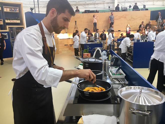 Pasta World Championship 2017: Deutscher Koch Simon Cannalonga