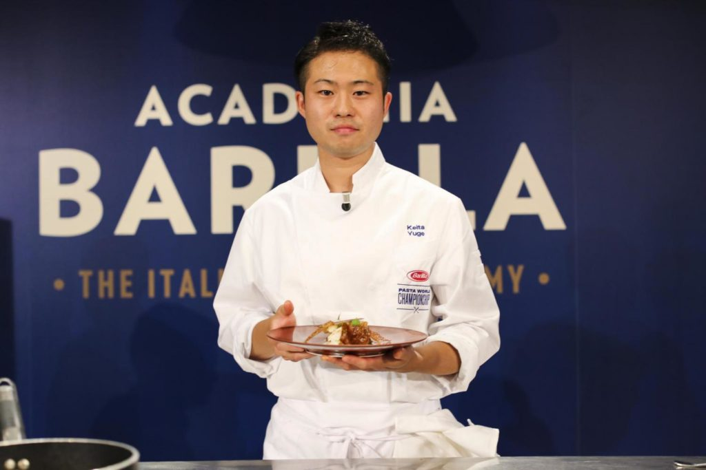 Pasta World Championship 2017: Keita Yuge aus Japan