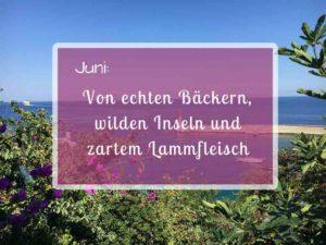 Pastamaniac: Monatsrückblick Juni 2018